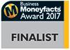 Business Moneyfacts Award 2017 finalist