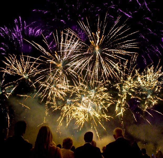 10th Anniversary Celebration at Crewe Hall - Fireworks